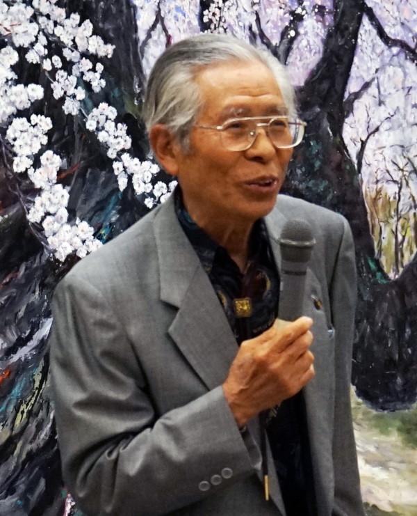 石田精吾 伊勢原美術協会会長